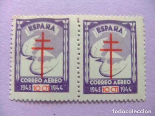 ESPAÑA ESPANGE 1943 PRO TUBERCULOSOS EDIFIL N º 973 AEREO ** MNH YVERT Nº 226 PA ** MNH (Sellos - España - Estado Español - De 1.936 a 1.949 - Nuevos)