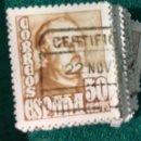 Sellos: AÑO 1948. FRANCO. Nº1022. 70 UDS.. Lote 66962831