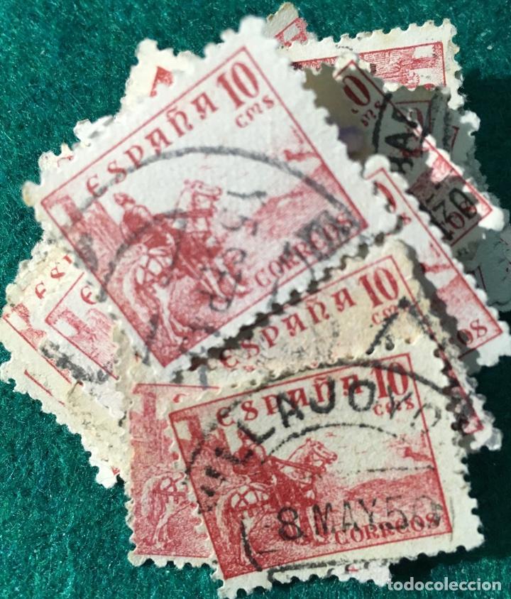 AÑO 1937/40 CID. Nº818. 80 UNIDADES (Sellos - España - Estado Español - De 1.936 a 1.949 - Usados)