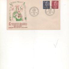 Francobolli: ESPAÑA-SOBRE ILUSTRADO CONMEMORATIVO EX. FILATELICA SINDICATO DEL SEGURO BARCE AÑO 1956 (SEGÚN FOTO). Lote 72050279