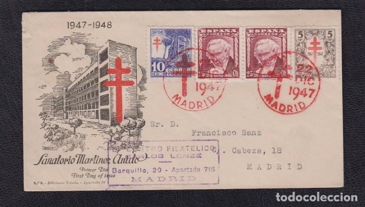 1947.- MADRID INTERIOR (Sellos - España - Estado Español - De 1.936 a 1.949 - Cartas)