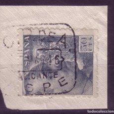 Sellos: ZZ28-FRANCO MATASELLOS CAJA POSTAL ASPE ALICANTE. Lote 73608271