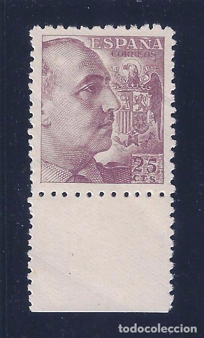EDIFIL 923 FRANCO 1940. (VARIEDAD...CIFRA DEL VALOR MUY INCLINADA). MNH ** (Sellos - España - Estado Español - De 1.936 a 1.949 - Nuevos)