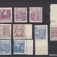 Sellos: 1944 EDIFIL 974/82** NUEVOS SIN CHARNELA. LUJO. BORDE DE HOJA. Lote 75518515