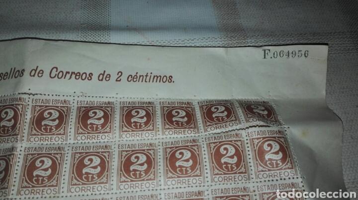 Sellos: Correos Sábana de Sellos de 2 céntimos - Foto 4 - 79260423