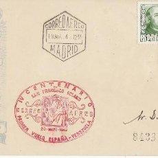 Sellos: C.A.: PRIMER VUELO ESPAÑA-VENEZUELA.1949.. Lote 79970105