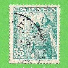 Sellos: EDIFIL 1026. GENERAL FRANCO Y CASTILLO DE LA MOTA. 1948-1954.. Lote 81696024