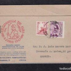 Sellos: 1948.- LERIDA A MADRID.1948.- . Lote 82481156