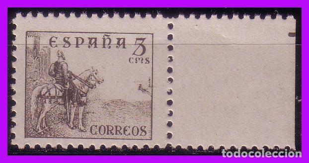 1937 CIFRAS, CID E ISABEL, EDIFIL Nº 816B * * (Sellos - España - Estado Español - De 1.936 a 1.949 - Nuevos)
