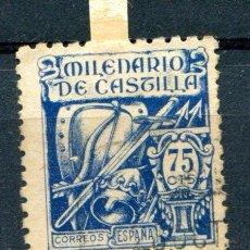 Sellos: EDIFIL 979.75 CTS MILENARIO DE CASTILLA. MATASELLADO. COLOR PAPEL ALGO AMARILLENTO. Lote 83048572