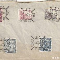 Sellos: CARTA DIA DEL SELLO MADRID 1946. Lote 83709880
