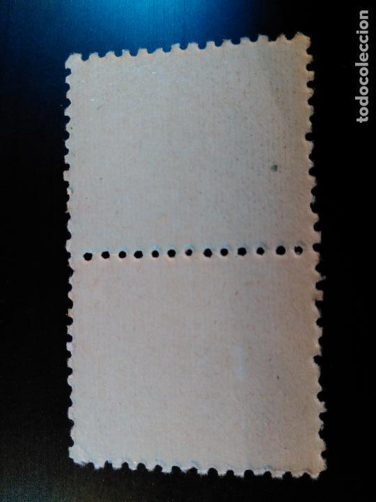 Sellos: ESTADO ESPAÑOL. CIFRAS Y CID. EDIFIL Nº 917. 1940. BLOQUE DE 2 - Foto 2 - 84947532