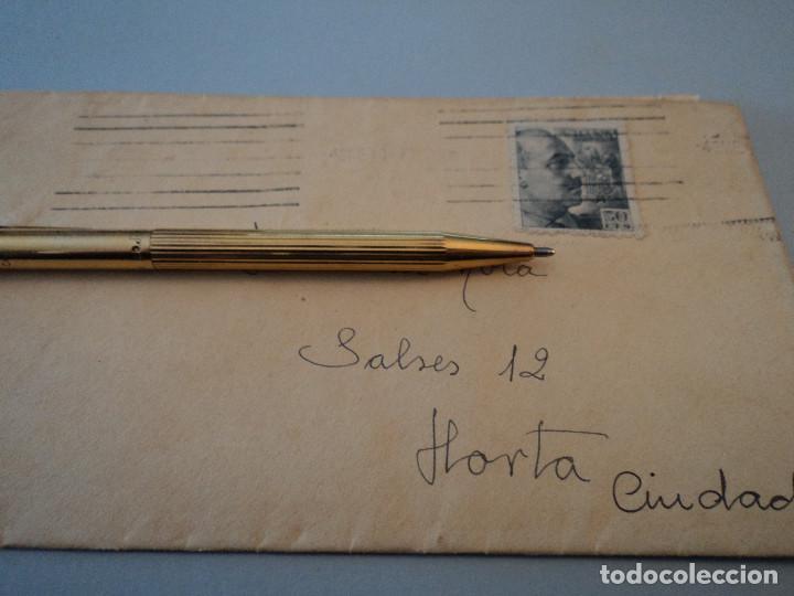 SOBRE CON SELLO DE FRANCO 1947 (Sellos - España - Estado Español - De 1.936 a 1.949 - Cartas)