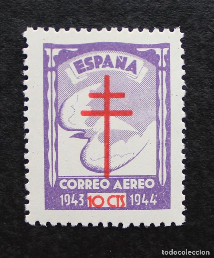 ESPAÑA 1943, PRO TUBERCULOSOS, EDIFIL 973(**) (Sellos - España - Estado Español - De 1.936 a 1.949 - Nuevos)