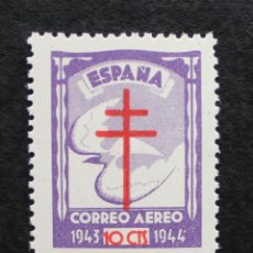 Sellos: ESPAÑA 1943, PRO TUBERCULOSOS, EDIFIL 973(**). Lote 89697420