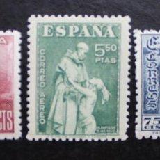 Sellos: ESPAÑA 1946,DÍA DEL SELLO FIESTA DE LA HISPANIDAD, EDIFIL 1002 AL 1004 (**). Lote 89697844