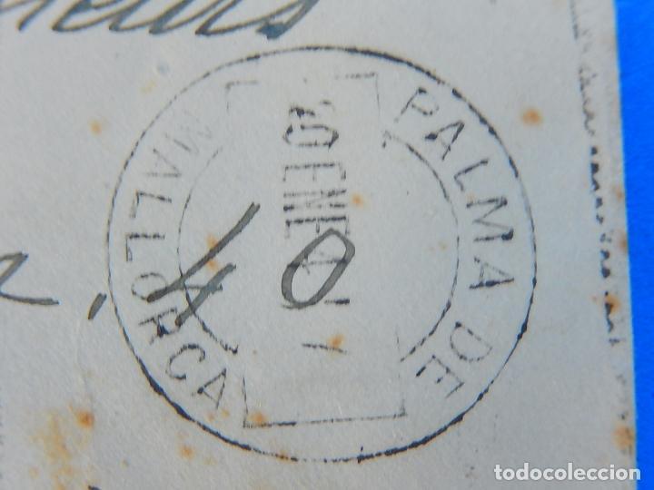 Sellos: Sobre circulado. Andraitx a Francia. 1941. Marcas de censura Palma Mallorca y alemanas. - Foto 3 - 91598760