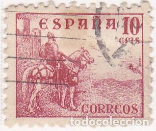 1940 - CIFRAS Y CID - EDIFIL 917 (Sellos - España - Estado Español - De 1.936 a 1.949 - Usados)