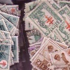 Sellos: GRAN LOTE TUBERCULOSOS APROX. 800 SELLOS USADOS SALIDA 1 EURO. Lote 96579335