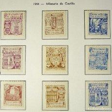 Sellos: ESPAÑA 1944. MILENARIO DE CASTILLA. EDIFIL Nº 974/82 MNH (50€). Lote 104175294