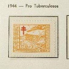 Sellos: 1944. PRO TUBERCULOSOS SERIE COMPLETA NUEVA SIN FIJASELLOS. EDIFIL Nº 984/988. Lote 98691255