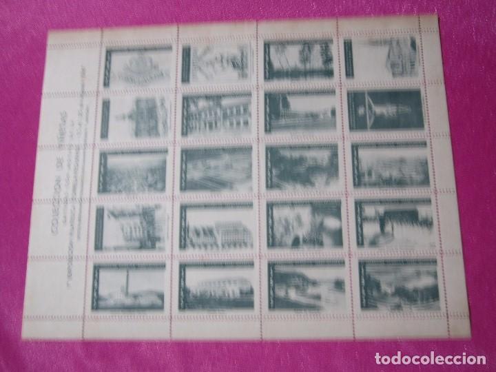 Sellos: 1ª EXPOSICION FILATELICA TORRELAVEGUENSE 20 VALORES BLOQUE COMPLETO Y UNIDO CON GOMA AÑO 1947 - Foto 2 - 99831363