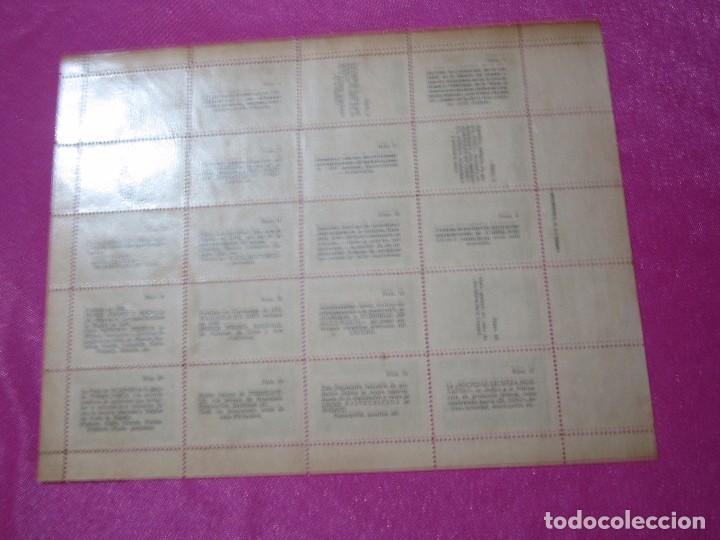 Sellos: 1ª EXPOSICION FILATELICA TORRELAVEGUENSE 20 VALORES BLOQUE COMPLETO Y UNIDO CON GOMA AÑO 1947 - Foto 7 - 99831363