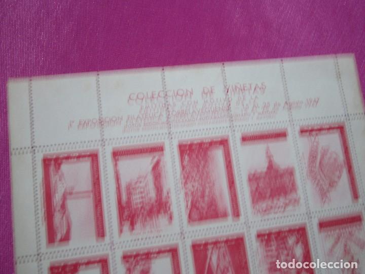 Sellos: 1ª EXPOSICION FILATELICA TORRELAVEGA 20 VALORES BLOQUE COMPLETO 1947 - Foto 4 - 99832459