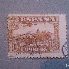 Sellos: 1936 - ESTADO ESPAÑOL - EDIFL 813. JUNTA DE DEFENSA. LIGERA SEÑAL DE FIJASELLOS.PRECIO CATALOGO 56€. Lote 101284487