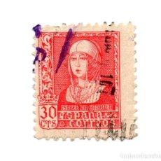 Sellos: EDIFIL 857. 30 CTS. ISABEL LA CATOLICA.. Lote 182269372