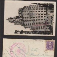 Sellos: POSTAL MADRID AÑO 1939 - PALACIO TELEFÓNICA - CENSURA MILITAR PUERTO DE SANTA MARÍA ( CÁDIZ ). Lote 102965311