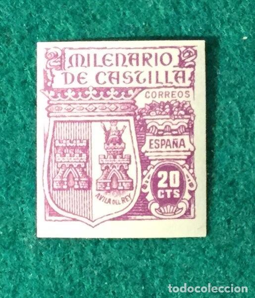 AÑO 1944. MILENARIO DE CASTILLA. Nº 974 SIN DENTAR. (Sellos - España - Estado Español - De 1.936 a 1.949 - Nuevos)
