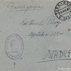Sellos: FRONTAL MATASELLO CARTERIA ADMINISTRACION PRINCIPAL CORREOS TARRAGONA. Lote 103884599