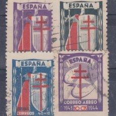 Sellos: Nº 970/73 PRO TUBERCULOSOS AÑO 1944 MATASELLADOS.. Lote 148034561