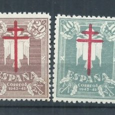 Briefmarken - R26/ ESPAÑA EN NUEVO** 1942, EDF. 957/60, CAT. 13,50€, PRO TUBERCULOSOS - 104421678