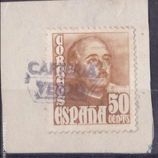 Selos: BB9-FRANCO MATASELLOS CARTERÍA VERDÚ LÉRIDA. Lote 105772515
