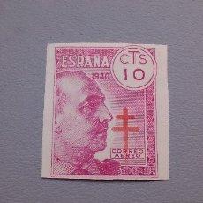 Sellos: 1940 - ESTADO ESPAÑOL -EDIFIL 939S -SIN DENTAR - MHN** -PRO TUBERCULOSOS - MUY ALTO VALOR CATALOGO.. Lote 101927471