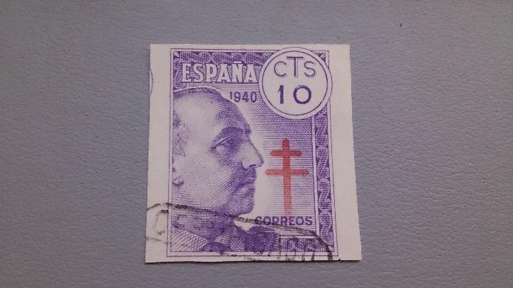 1940 - ESTADO ESPAÑOL - EDIFIL 936 -SIN DENTAR -PRO TUBERCULOSOS - PRECIO CATÁLOGO + 100€. (Sellos - España - Estado Español - De 1.936 a 1.949 - Usados)