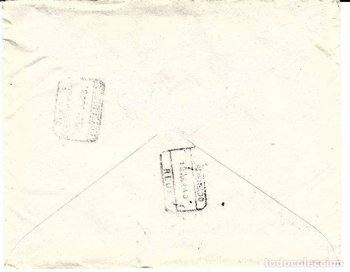 Sellos: CARTA DE BENEDICTO LOPEZ AGILDA EN LA CORUÑA-INDICACIÓN VIVA ESPAÑA- CERTIFICADO ENCIMA DE LOS SELLO - Foto 2 - 109120811