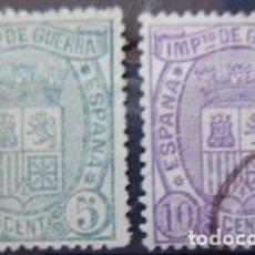 Sellos: ESPAÑA - EDIFIL Nº 154/55 - USADOS -. Lote 109219871