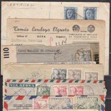 Sellos: LOTE 9 CARTAS CORREO EXTERIOR , INDIA , AUSTRALIA , U.S.A. , ARGENTINA , CUBA , E.T.C. . Lote 109304971