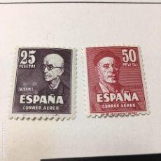 Sellos: 1947 EDIFIL 1015/6 FALLA Y ZULOAGA NUEVOS CON GOMA. Lote 109603107
