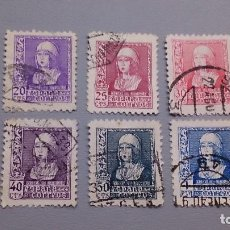 Sellos: 1938 - 1939 - EDIFIL 855/860 - SERIE COMPLETA -BONITA SERIE - CENTRADOS- ISABEL LA CATOLICA.. Lote 111704723
