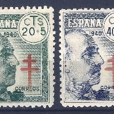 Sellos: EDIFIL 936-939 PRO TUBERCULOSOS 1940 (SERIE COMPLETA). MLH /MNH **. Lote 112230011