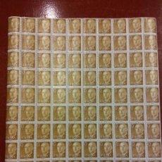 Sellos: XXD. LOTE DE SELLOS. FRANCO. 15 CTS. HOJA. 10 X 10. 100 SELLOS. DE COLECCION. Lote 112552479