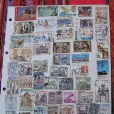 Sellos: FILATELIA - HOJA DOS CARAS / 120 SELLOS - ESPAÑA.. Lote 113419311