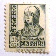Sellos: SELLOS ESPAÑA 1937-1940. EDIFIL 820. NUEVO. ISABEL.. Lote 122042998