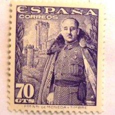 Selos: SELLOS ESPAÑA 1948-1954. EDIFIL 1030. NUEVO. GENERAL FRANCO.. Lote 145066886