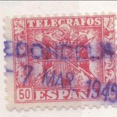 Sellos: ZZ31-TELÉGRAFOS MATASELLOS REDONDELA. Lote 114650875
