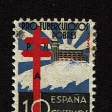 Sellos: 1938 - ESTADO ESPAÑOL - EDIFIL 866 - MH* - PRO TUBERCULOSOS.. Lote 114674607